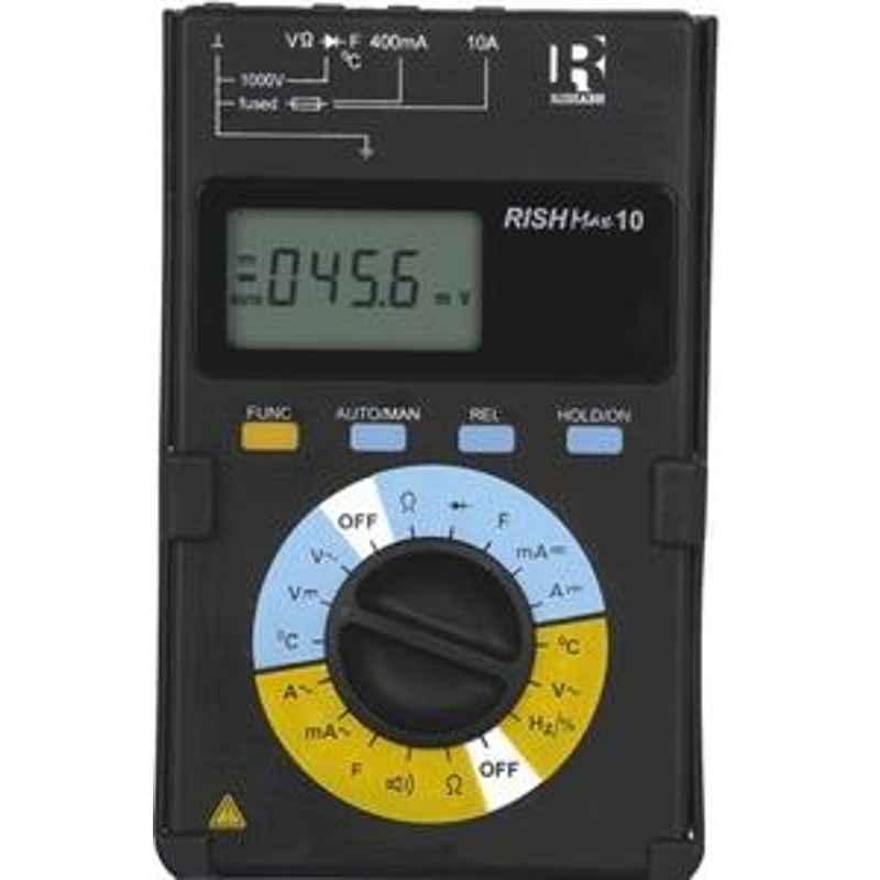 Rishabh Max 10 Digital Multimeter AC Volt Range 400mV to 1000V