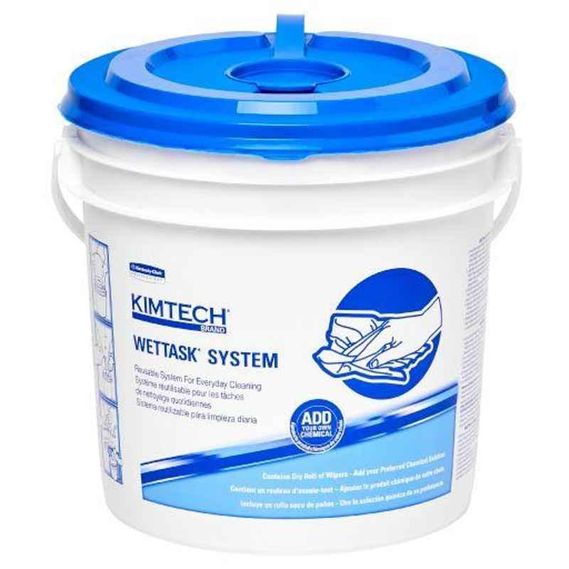 Kimtech Wettask Hydroknit Sanitising Wipes System, 6001