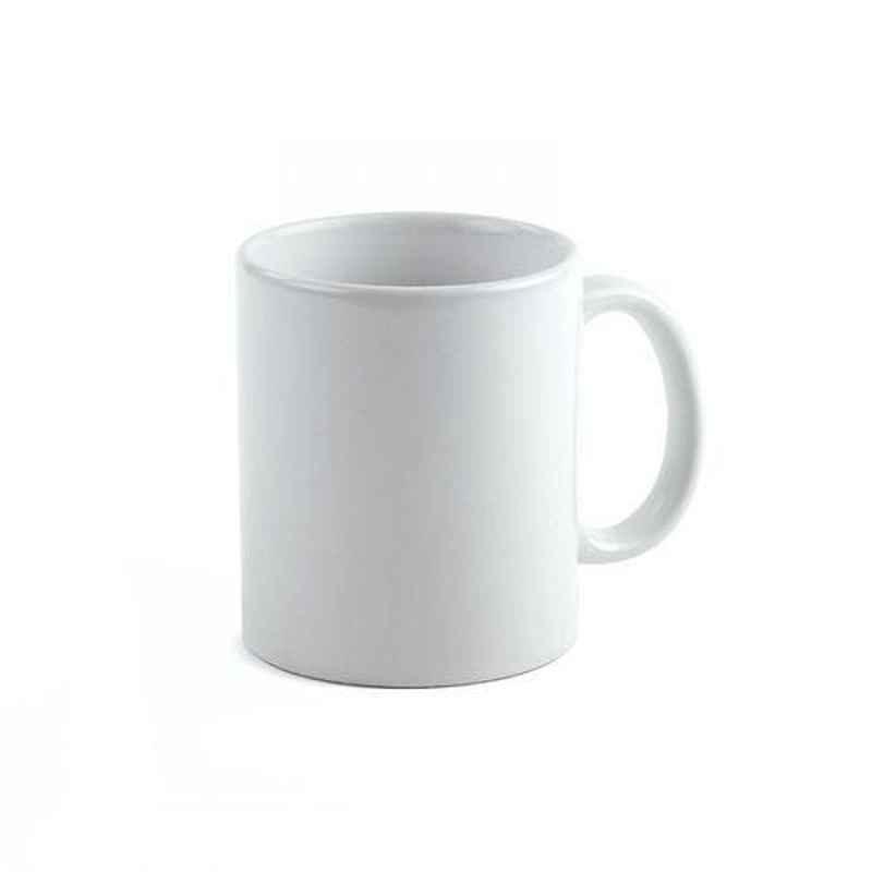 250ml White Ceramic Sublimation Coffee Mug