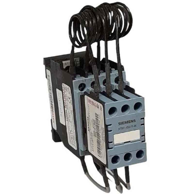 Siemens 110V 7kVAR Capacitor Duty Contactor, 3TS11100AF058K