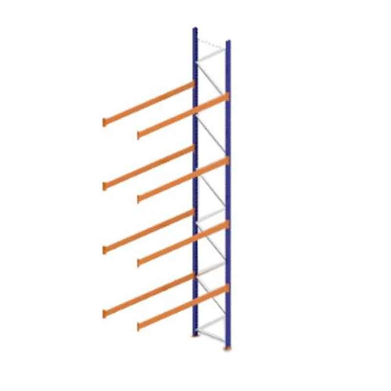 Godrej Ground Plus 4 Layers Steel Selective Pallet Racking, Max Load Capacity: 8000kg, Add on Unit: 7000x2300x800mm (HxWxD)