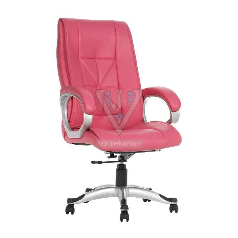 VJ Interior Pink The Menique Hb Executive Chair, VJ-512