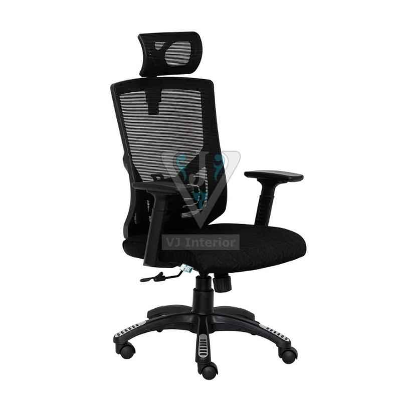 VJ Interior 18 inch Mesh Office Executive Chair With Neck Support, VJ-1006