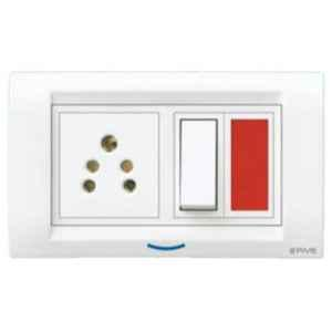 B-Five 1 Module Cover Plate, B-61D (Pack of 10)