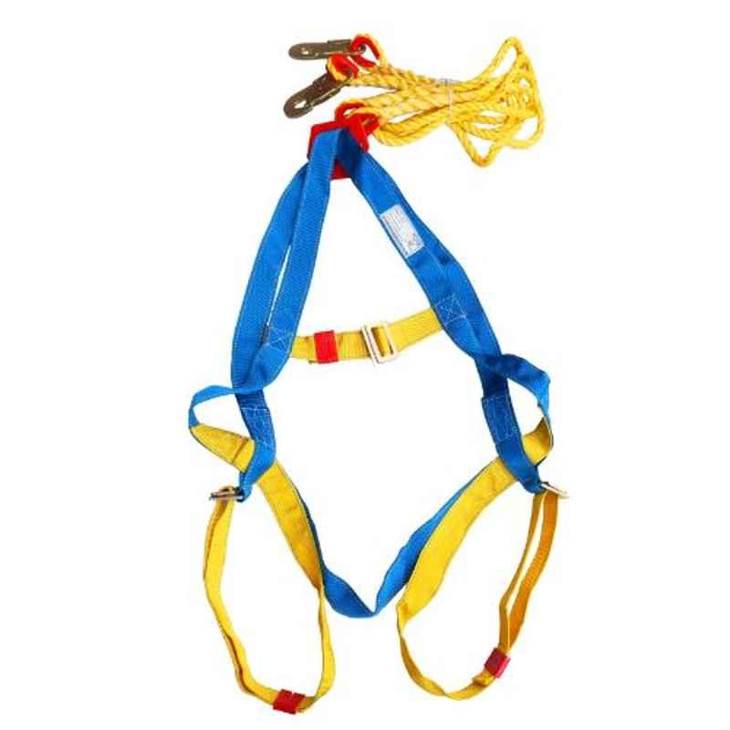 Arcon Double Rope Full Body Auto Strip Lock Hook Safety Belt, ARC-5111